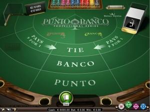 Punto Banco voor geld